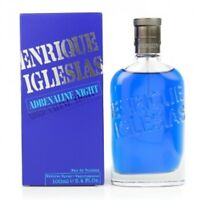 ADRENALINE NIGHT by Enrique Iglesias cologne 3.3 / 3.4 oz edt New in Box
