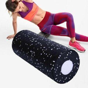 1 Set Roll Medium Faszienrolle Massagerolle Fitness Sport Yoga Pilates Black DHL