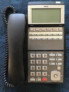 NEC DLV(XD)Z-Y(BK) IP3NA-12TXH TEL(BK) 12 Button Display Terminal Phone