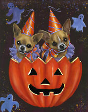 """Precious Pet Garden Flag - Chihuahua Halloweenie 12"""" x 18"""" ~ Charity!!"""