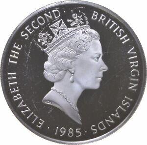 Better - 1985 British Virgin Islands 20 Dollars - TC *414