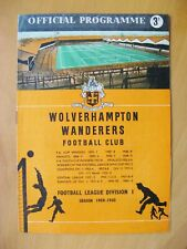 More details for wolves v nottingham forest charity shield 1959 *exc cond football programme*