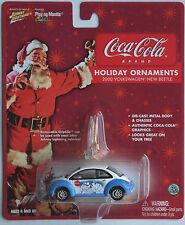 "Johnny Lightning - VW New Beetle weiß/blau ""Coca-Cola / X-Mas"" Neu/OVP"
