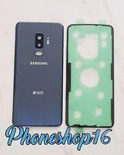 Original Samsung Galaxy S9+ DUOS G965F Akkudeckel Deckel Backcover Blau Kleber A