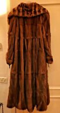 Natural mink long fur coat. RRP $ 8500.00