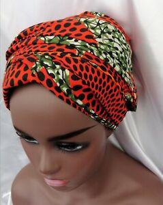 African Kente Head wrap, African Print Scarf Ankara Turban, Wax Head tie For All