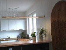 Hängelampe Holz Buche LED Designerleuchte mit Dimmfunktion
