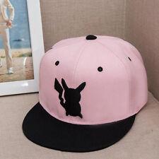 Pokemon Baseball Cap Pikachu Snapback Unisex Men Women Adjustable Hip-Hop Hats