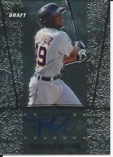 2011 Leaf Metal Draft Francisco Martinez On Card Auto Baseball Signed #AU-FM1