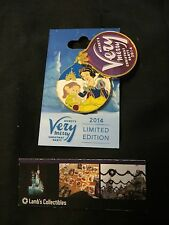 Disney Parks Dopey & Snow White Mickey's Very Merry Christmas Party 2014 pin