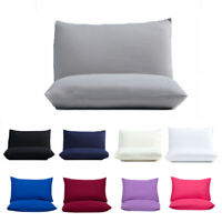 Waterproof Double Sides Terry Protector Pillow Covers 50x70cm Anti Allergic AU