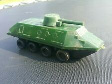 VINTAGE TOY BTR RUSSIAN MILITARY PLASTIC FRICTION POWERED USSR RUSSIA CCCP USSR