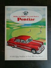 Ref. #69036 Convertible Coupe Factory Photo 8 1953 Pontiac Chieftan Eight