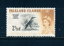 FALKLAND ISLANDS 1960 DEFINITIVES SG196 2½d (BIRD)  MNH