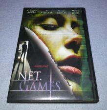 Net Games DVD Drama C. Thomas Howell Samuel Ball Monique Demers  *RARE oop