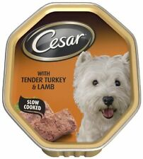 Cesar Dog Food Tray Classics with Tender Turkey & Lamb (Pack of 14 x 150g)