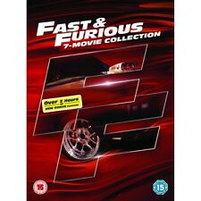 Fast & Furious 1 to 7 Movie Collection Region 2 DVD