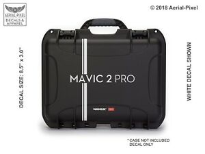 DJI Mavic 2 Pro Drone Case Decal  for Nanuk Pelican GoProfessional GPC & More