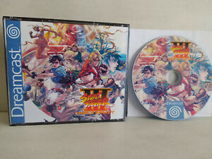 Street Fighter 3 Triple Impact DREAMCAST - Street Fighter 3 NG + DI + 3rd Strike