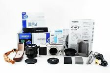 OLYMPUS PEN E-P3 - Silver + CANON NEW FD 50mm f/1.4 + mount adapter FD-M4/3 #150