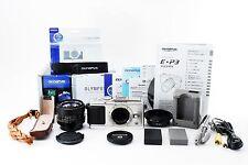 OLYMPUS PEN E-P3 - Silver + CANON NEW FD 50mm f/1.4 + mount adapter FD-M4/3 #150