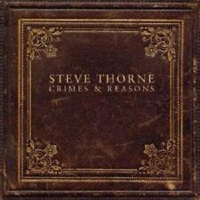 "STEVE THORNE ""CRIMES AND REASONS"" CD NEUWARE"
