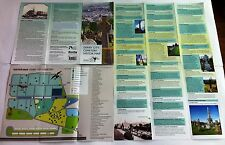DERRY LONDONDERRY CITY CEMETERY VISITORS MAP IRELAND IRISH POSTCARD CANADA USA