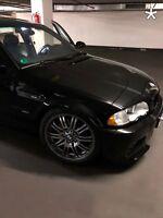 US - Design - Folie für weiße Blinker BMW E46 Limo und Kombi vorne rechts/links