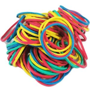 100pcs/box Mixed Color Rubber Bands Tattoo Accessories for Tattoo Machine