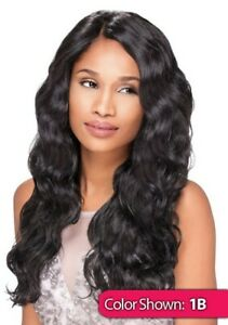 Sensationnel Synthetic Lace Front Wig Wavy Empress Edge Custom Lace Body Wave