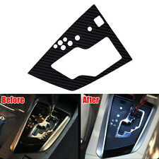 For 2014 Corolla Console Gear Shift Panel Sticker Cover Trim Decal Carbon Fiber
