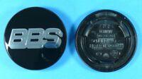 BBS Felgendeckel Embleme schwarz/chrom 70,6mm 09.24.258