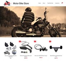 Established Motor Bike Turnkey Website BUSINESS For Sale-Profitable DropShipping