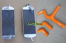KTM 450SX 525SX 450/525 MXC/EXC 2003-2007 2004 2005 06 aluminum radiator & hose