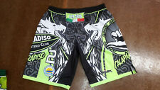 FOOTEX Pantaloncino Beach Volley Made in Italy Colore Nero/Grigio/Verde-Fluo