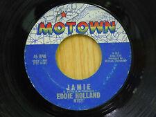 Eddie Holland motown 45 Jamie bw Take A Chance On Me Motown