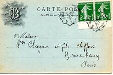Carte de la Maison Boudier Tranchant à SAINTE COLOMBE Rhône