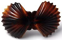 Free Shipping French hair barrette Celluloid Tortoise Shell Hair Clip 4 Inch T13
