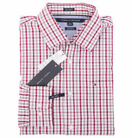 Tommy Hilfiger Men's Long Sleeve Custom Fit Casual Shirt -$0 Free Ship