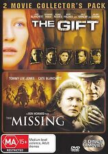 THE GIFT / THE MISSING (2 DVD) R4 CATE BLANCHETT ***
