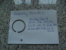 Zündapp Kolbenring, 39x1,5 C, Mofa, Moped,Mokick, GTS 50, M50, Hai 50, ZD40, C50
