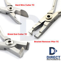 Orthodontic TC Distal End Hard Wire Cutter Pin Ligature Bracket Remover Pliers