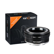 M42-NEX Copper Adapter Ⅱ for M42 Mount Lens to Sony NEX E Camera K&F Concept