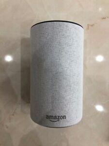 Amazon Echo (2nd generation) Wireless Speaker with Alexa - Sandstone Fabric