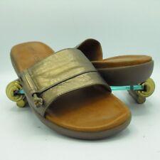 Gentle Souls Womens Golum Slide Sandal Shoe Metalic Bronze US 9 M
