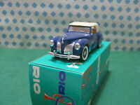 Vintage -  LINCOLN CONTINENTAL berlina 1941  -  1/43  Rio n°82   Mint in Box