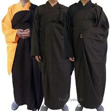 Shaolin Buddhist Monk Dress Kesa Haiqing Robe Meditation Suit Kung fu Uniform