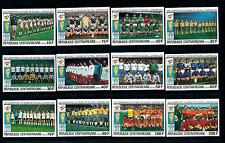 [60612] Central African Rep. 1981 World Cup Soccer Football Spain Imperf. MNH