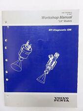 """1997 Volvo Penta EFI Diagnostic GM """"LK"""" Model Service Manual 7797364"""
