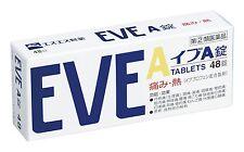 EVE A 48 Tablets headache medicine Painkiller Pain Relief From Japan